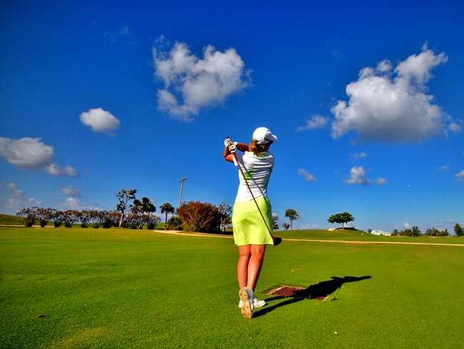 Drive the Range at Palm Aire Country Club