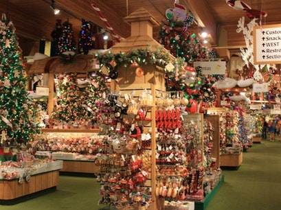 Bronner's Christmas Wonderland Frankenmuth Michigan United States