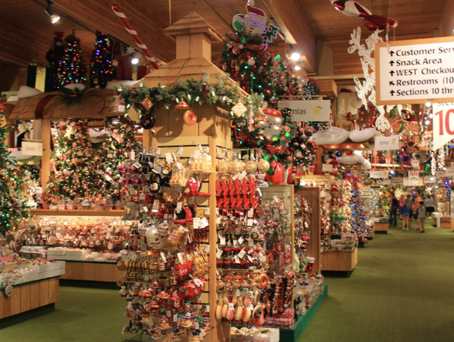 The Nation's Biggest Christmas Wonderland in Frankenmuth, Michigan