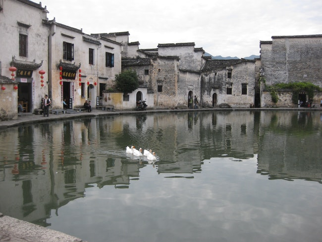 "Filming location for movie ""Crouching Tiger, Hidden Dragon"""