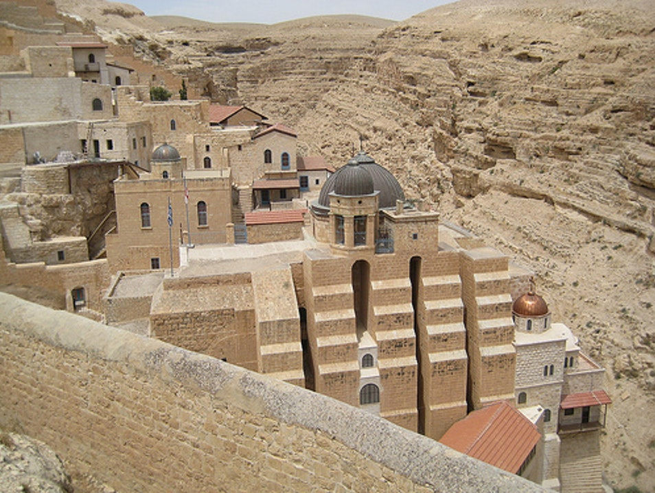St. George's Orthodox Monastery, Wadi Qelt, West Bank