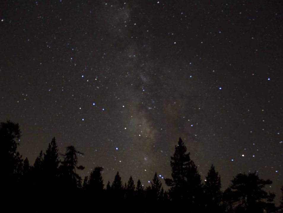 Contemplate the Milky Way