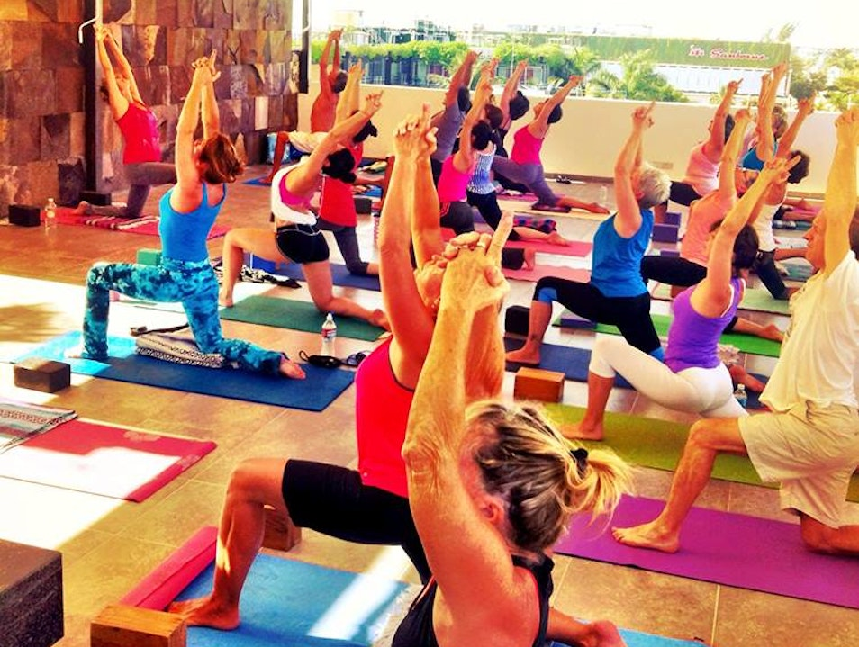 Rooftop Yoga in Paradise