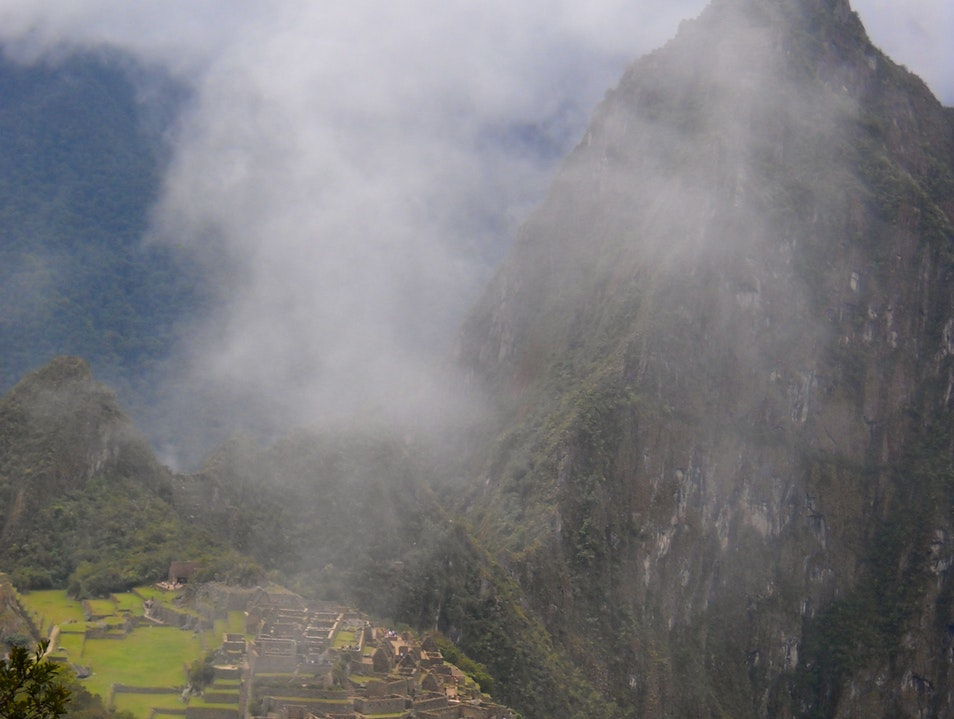 Along the Inca Trail Santuario Historico Machu Picchu  Peru