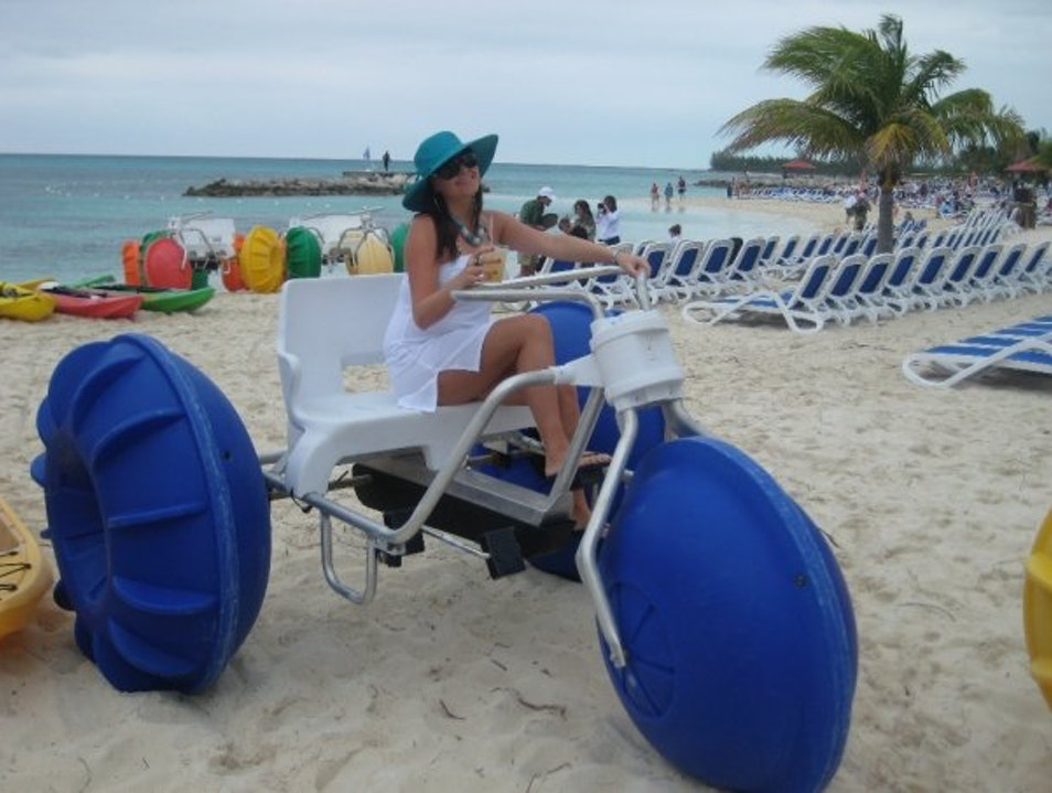 Water Biking in the Bahamas! South Eleuthera  The Bahamas
