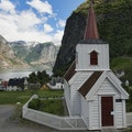 Undredal Stave Church Aurland  Norway