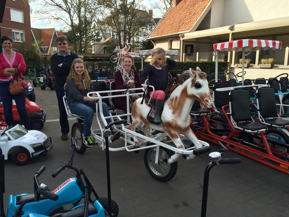 Chariot Rentals at the Northern Sea, Belgium