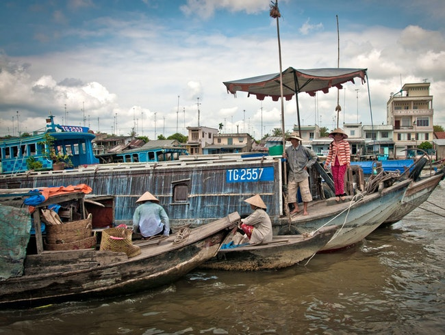 Mekong Delta: Down the River without a Paddle