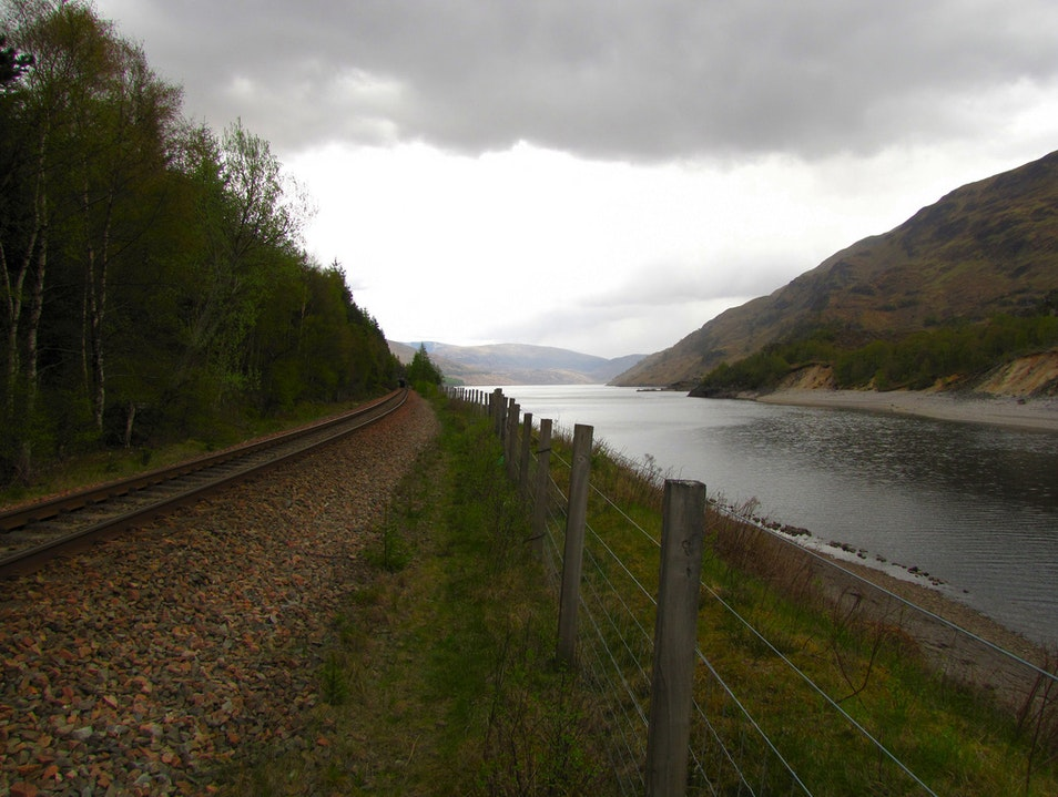 Ride Along the West Highland Line Crianlarich  United Kingdom