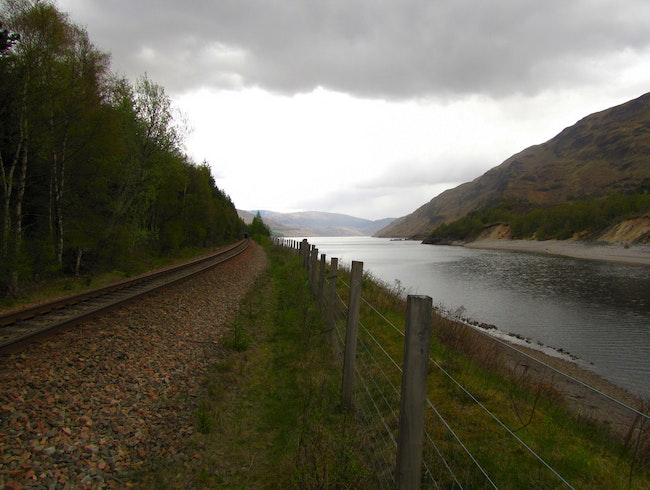 Ride Along the West Highland Line
