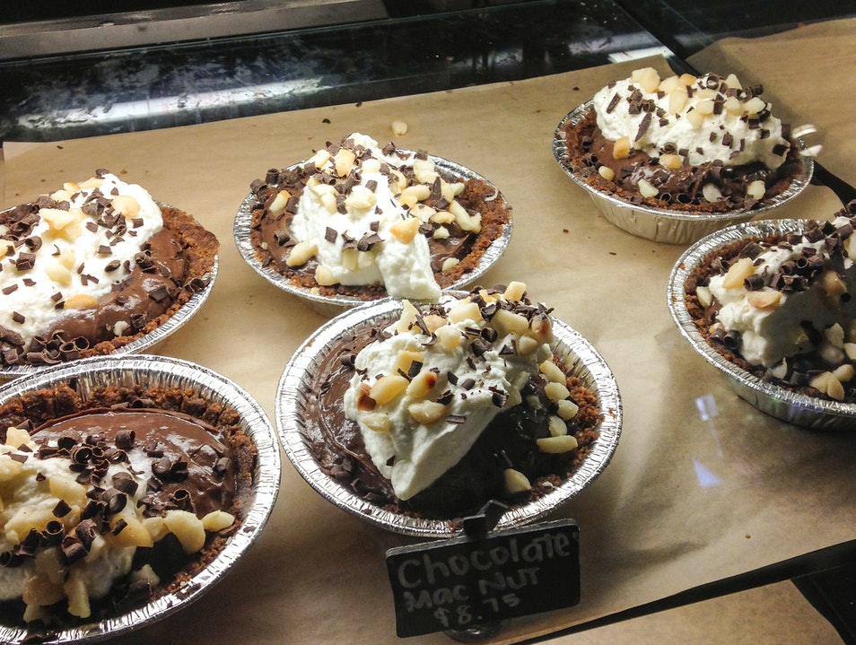 Pies to die for: Leoda's Kitchen and Pie Shop Lahaina Hawaii United States