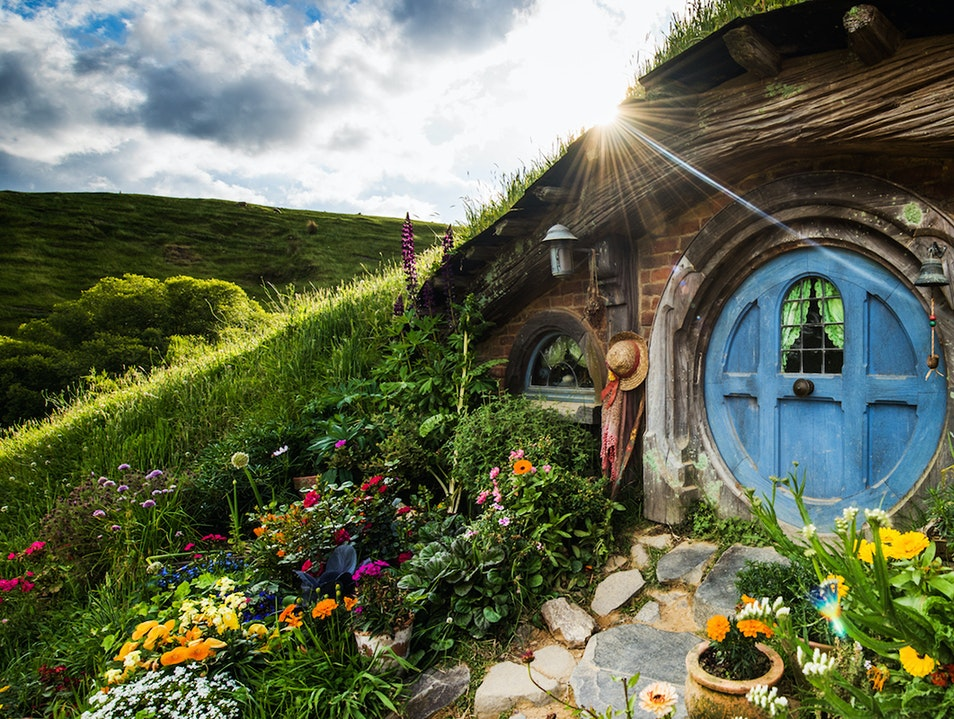 Hobbiton Movie Set Tour Matamata  New Zealand