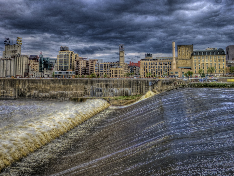 Upper St. Anthony Falls Lock and Dam Minneapolis Minnesota United States