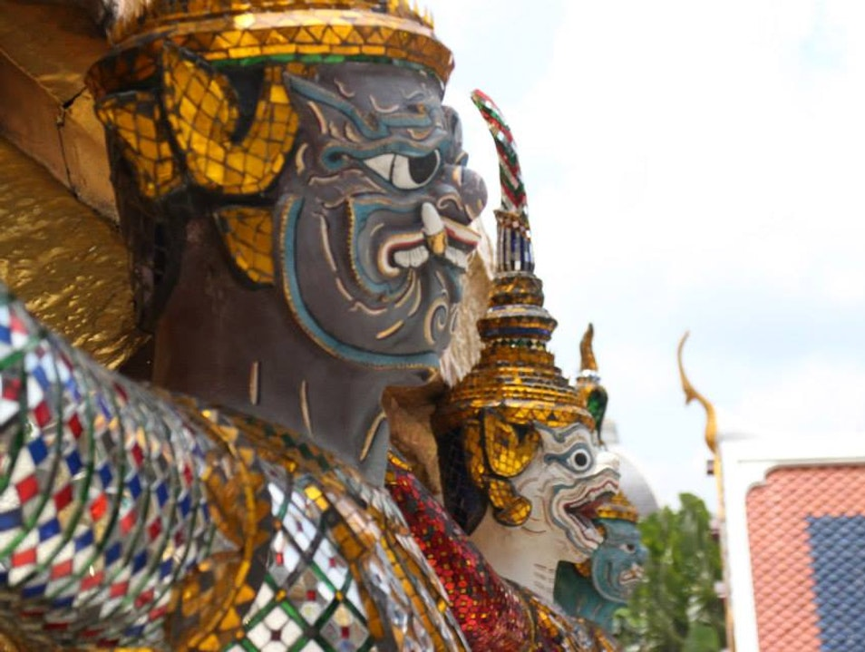 The Must See: The Grand Palace in Bangkok Bangkok  Thailand