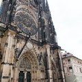 Saint Vitus Cathedral Prague  Czech Republic