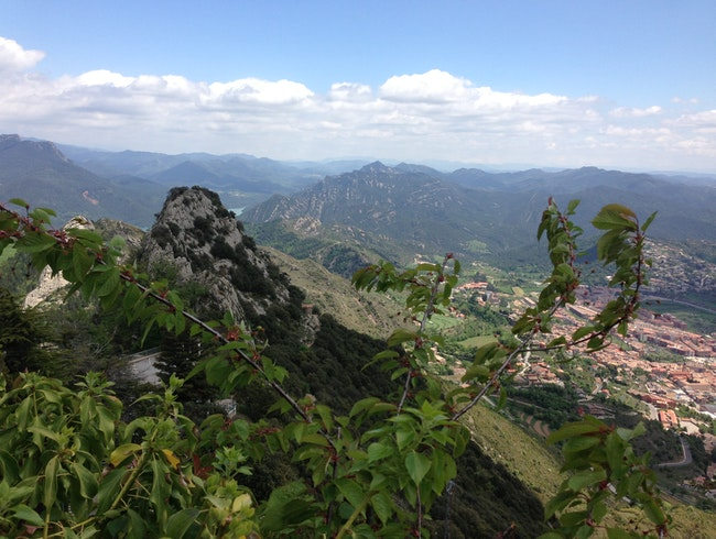 Take a hike for stunning views of the Catalan countryside