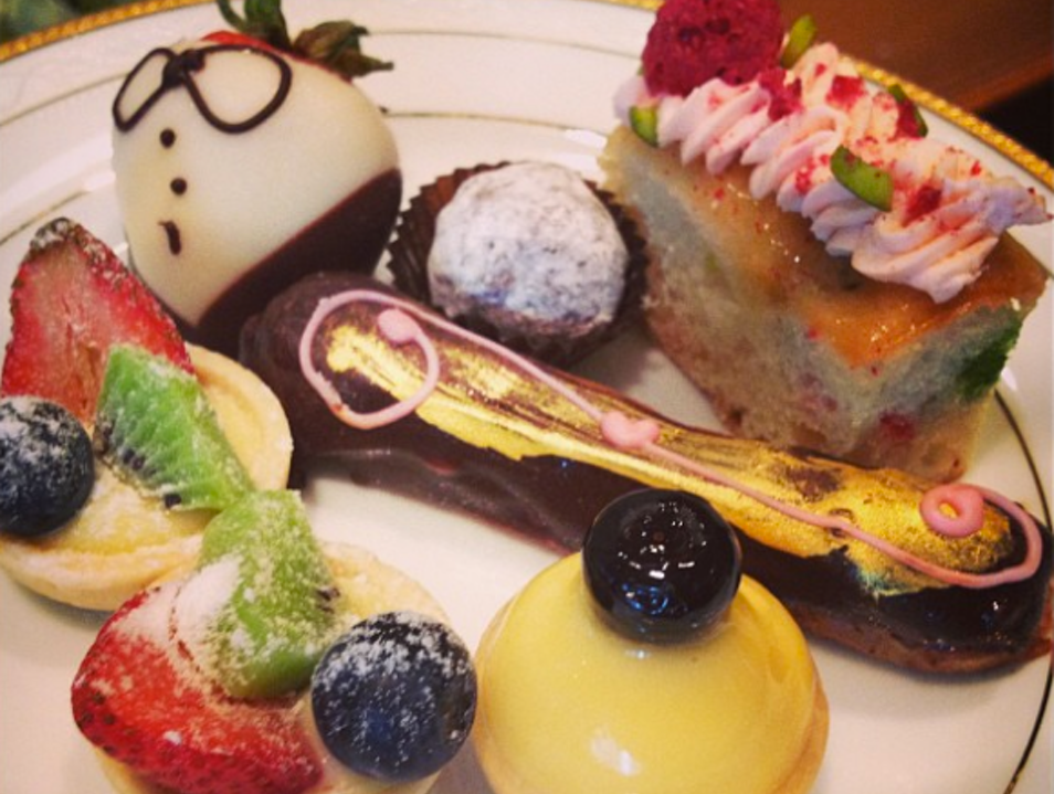 In Search of Melbourne's Best High Tea: The Langham