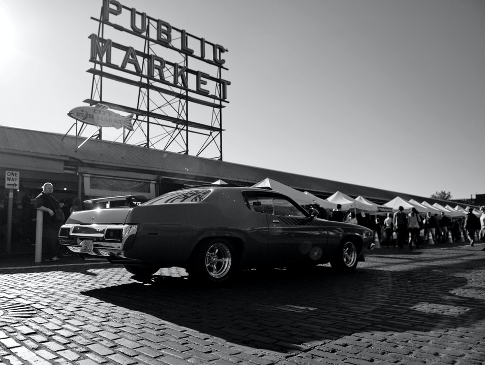 Public Market Seattle Washington United States
