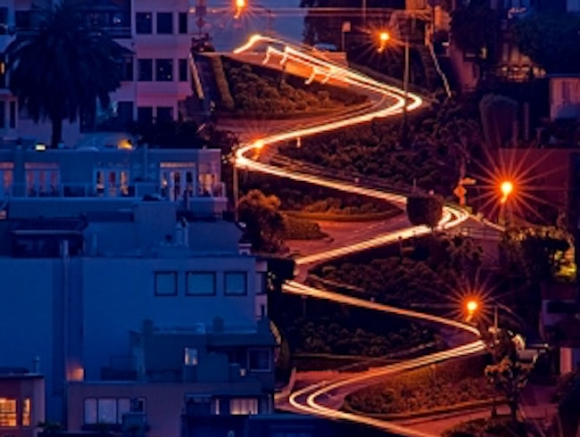 Lombard Street - sightseeing places in san francisco