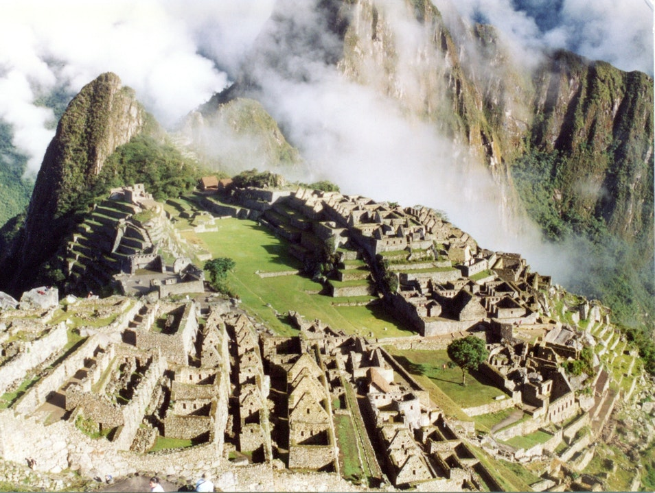 The early bird gets the worm Santuario Historico Machu Picchu  Peru