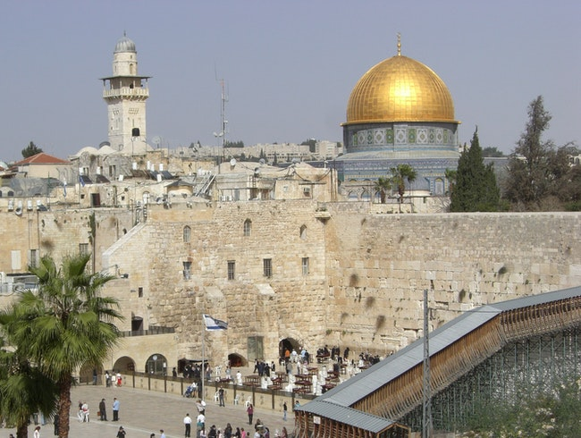 Jerusalem - Dome of the Rock and Western Wall