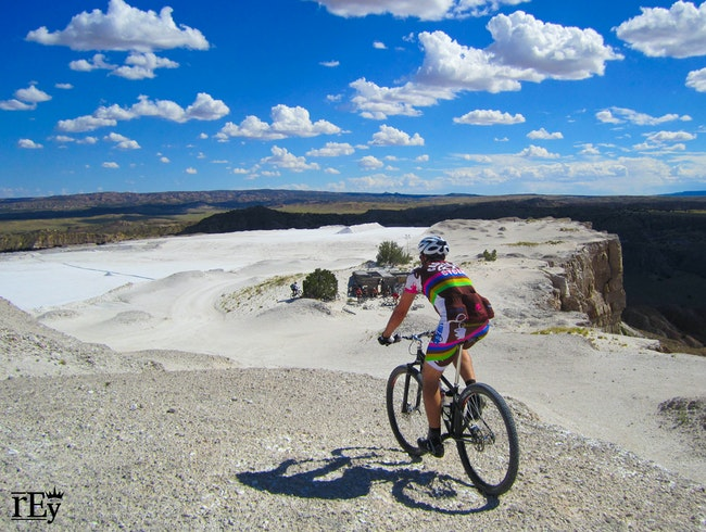 A Paleontological Mountain Bike Ride