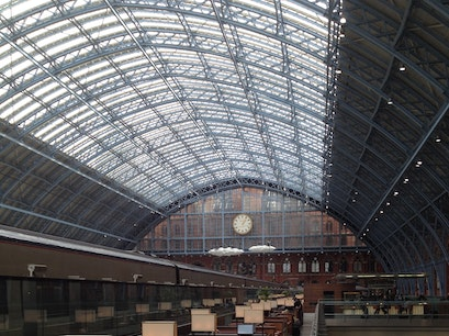 St Pancras International station London  United Kingdom