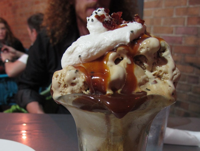 Bacon Sundae at The Green Goddess