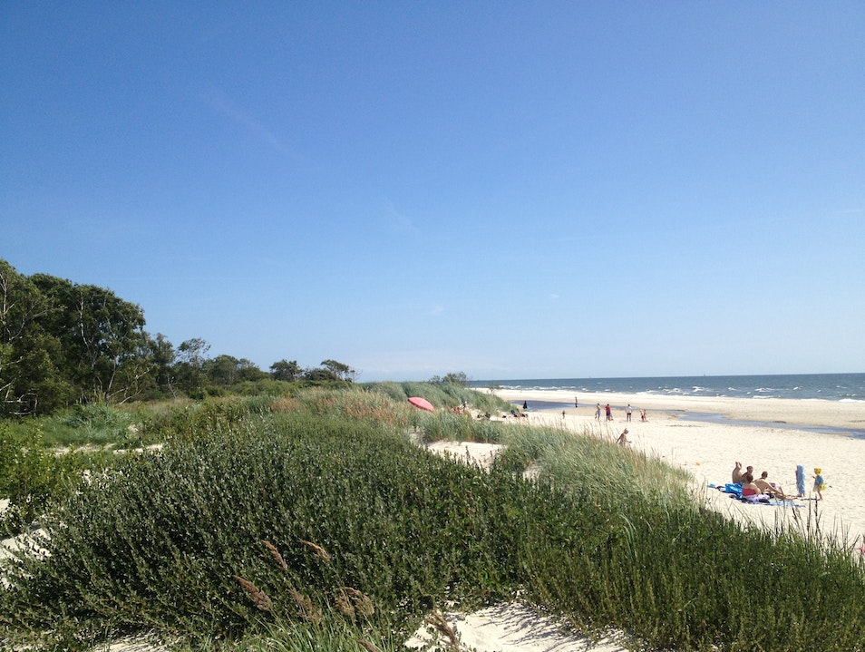 The Most Beautiful Beach in Southern Sweden