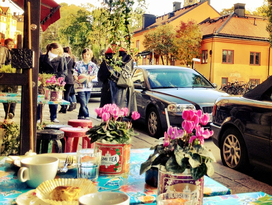 The Cutest Café in Stockholm