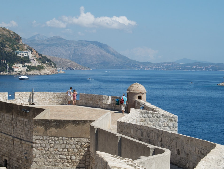 Walls of Dubrovnik Dubrovnik  Croatia