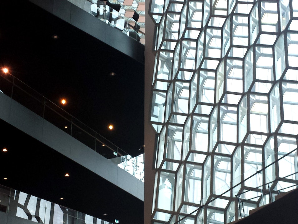 Afternoon at Harpa