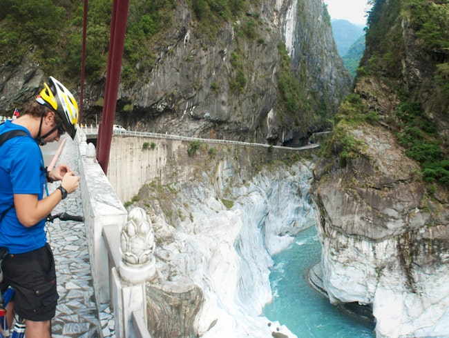 Hike Around and then Cruise Down This Spectacular Gorge on a Bike