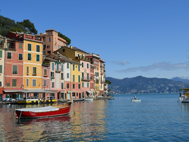 Shopping (and eating!) in Portofino
