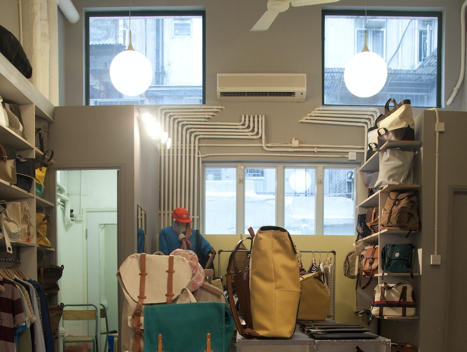 For Shoes and Satchels, Tea Sets and Toile Wan Chai  Hong Kong