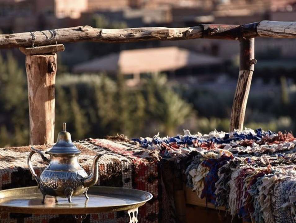 Come for the view but stay for the Tea! Aït Benhaddou  Morocco