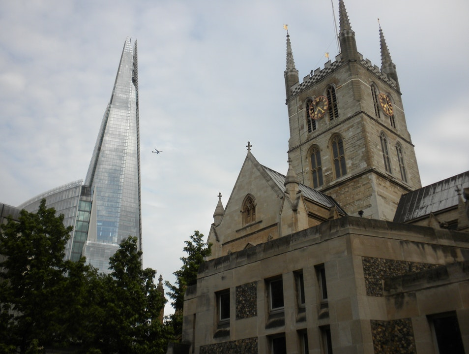 Southwark and the Shard London  United Kingdom