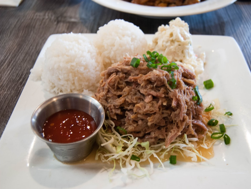 Savoring Local Comfort Food in Kahului Kahului Hawaii United States