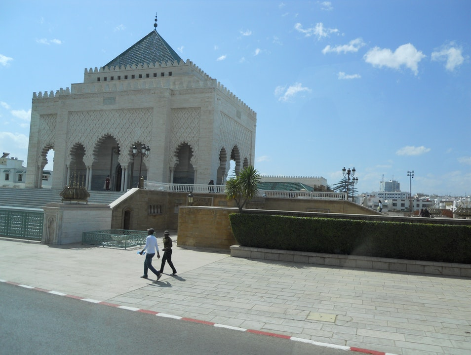 Mausoleum of Mohammed V in Rabat Rabat  Morocco
