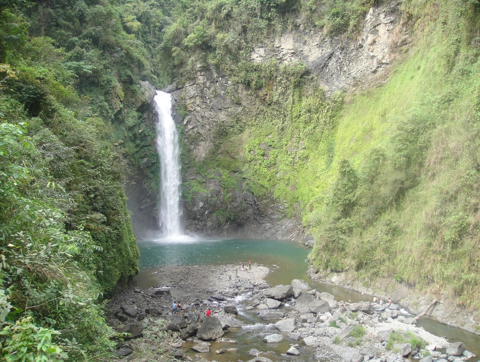 Mighty Tappiyah Falls, Batad, Philippines Banaue  Philippines
