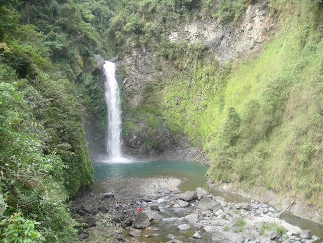 Mighty Tappiyah Falls, Batad, Philippines