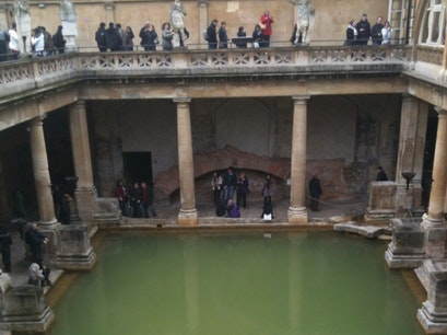 The Roman Baths Bath  United Kingdom