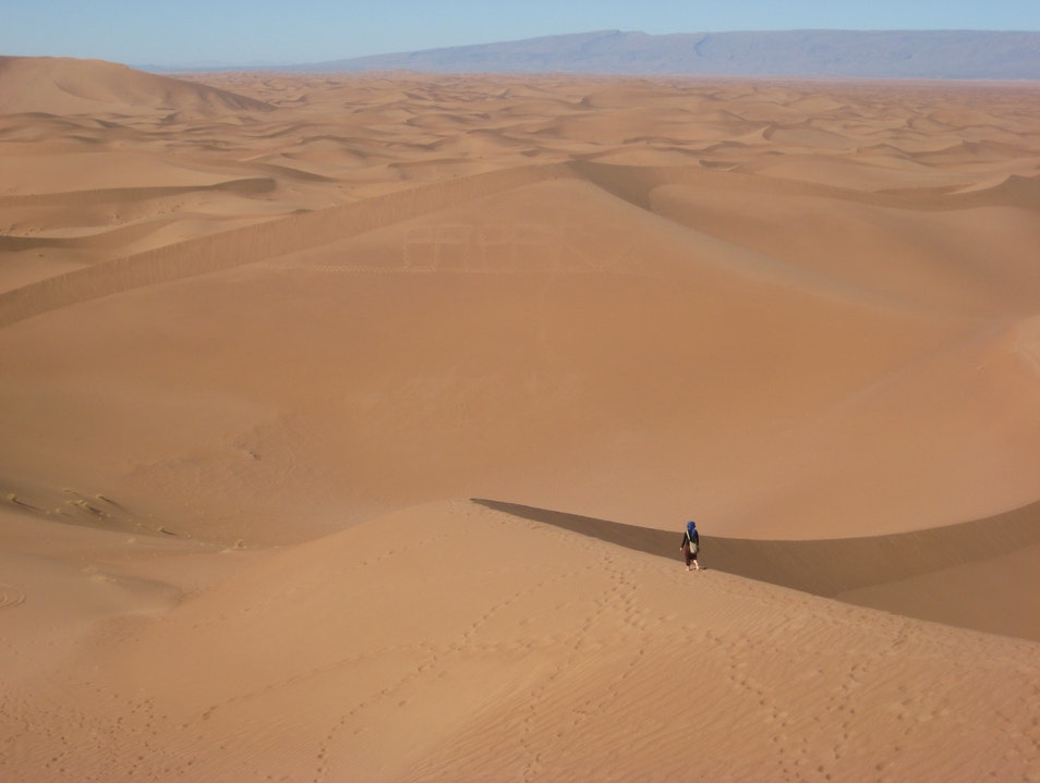 Lost: Walking Without a Compass Ouarzazate  Morocco