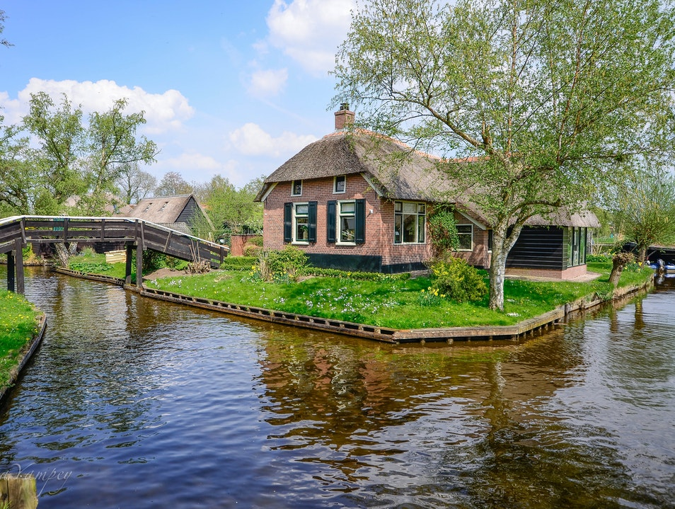 The beauty of Giethoorn Giethoorn  The Netherlands