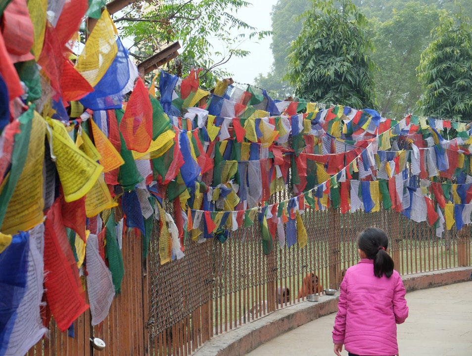 Prayer Flags Varanasi  India
