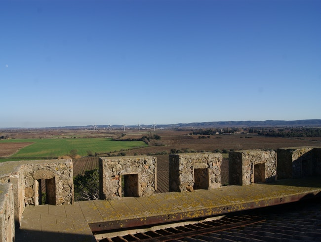 View from the historic Roman watchtower
