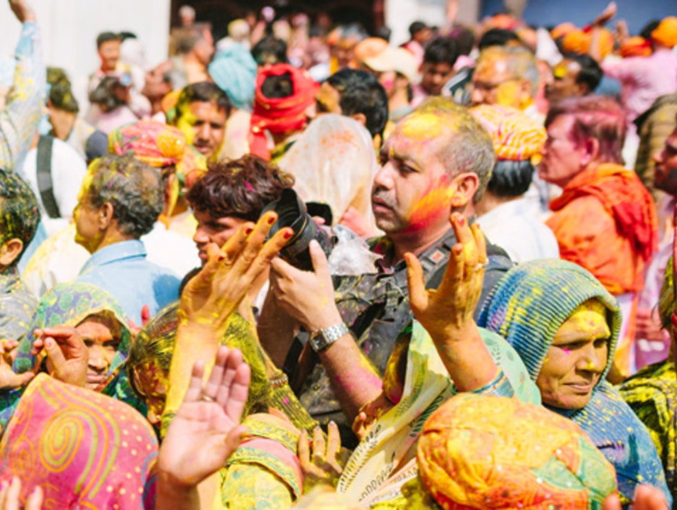 Holi Festival of Colour - Easy Tours of India Mathura  India