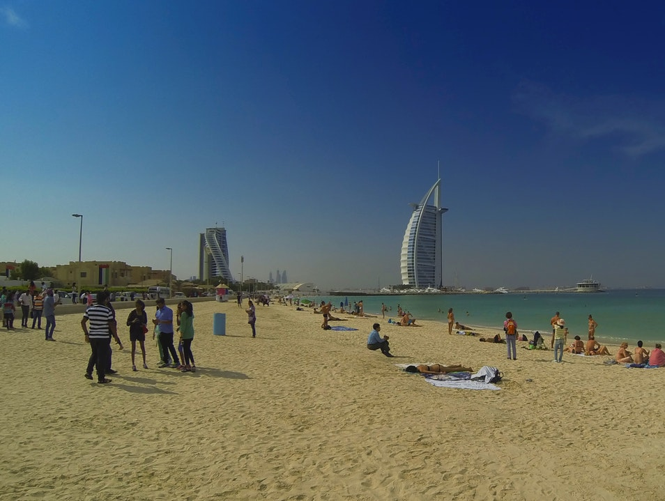 Kite Beach Dubai  United Arab Emirates