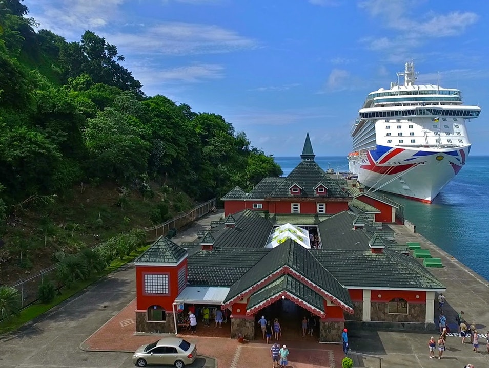 St. Vincent Cruise Ship Terminal Shops Kingstown  Saint Vincent and the Grenadines