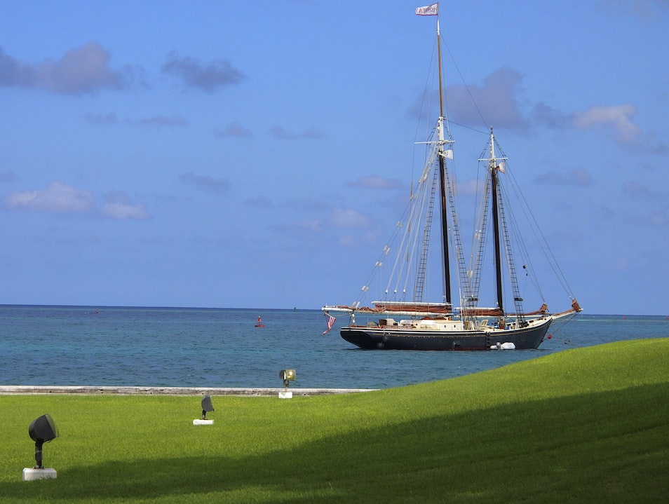 Sail Into History Aboard the S/V Roseway